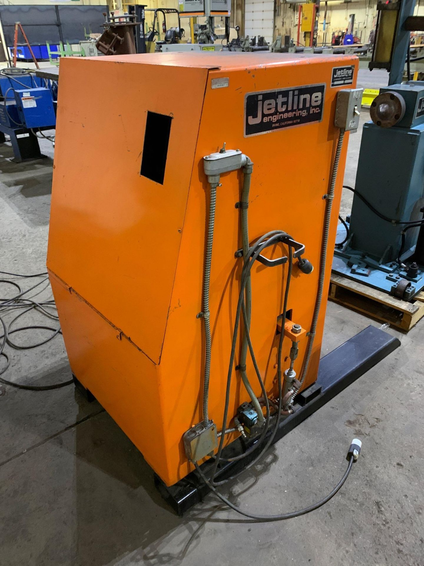 Jetline Welding Positioner Model CU5-216 Serial Number: 07625 Pipe Weld Positioner with Tail Stock I - Image 4 of 15