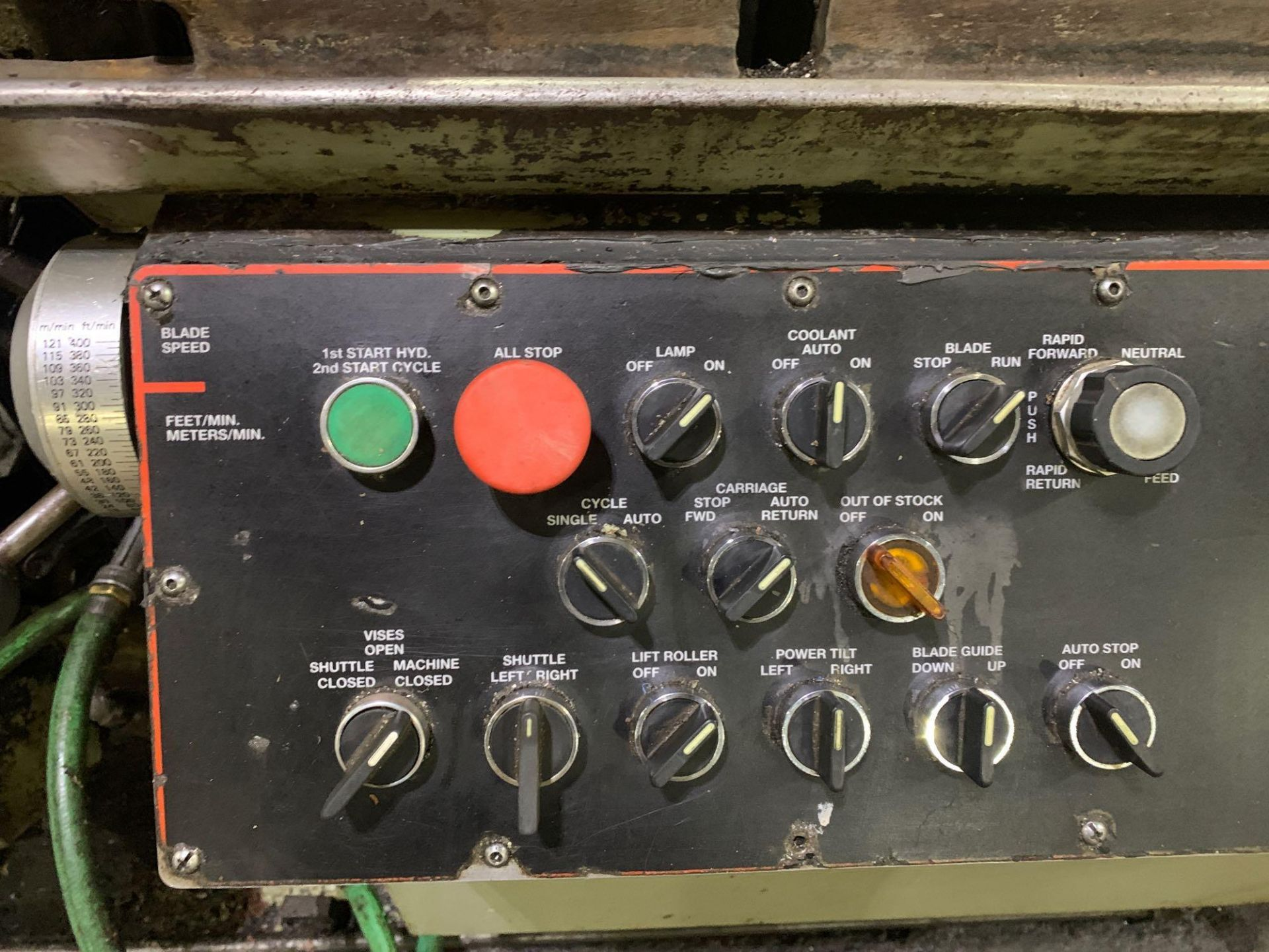 """Marvel Armstrong Blum Automatic Universal Band Saw Model 81A11PC Rated Capacity 18"""" x 20"""" Serial No. - Image 24 of 30"""