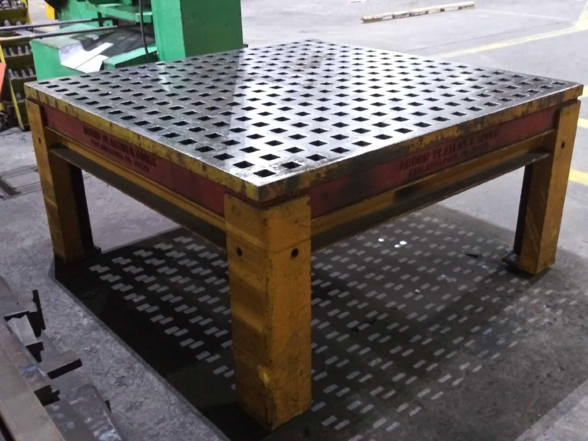 """Acorn Platens & Tools Welding Table, 60""""x60""""x30"""", square hole dimensions 1-3/4"""", inv1080 - Image 6 of 15"""
