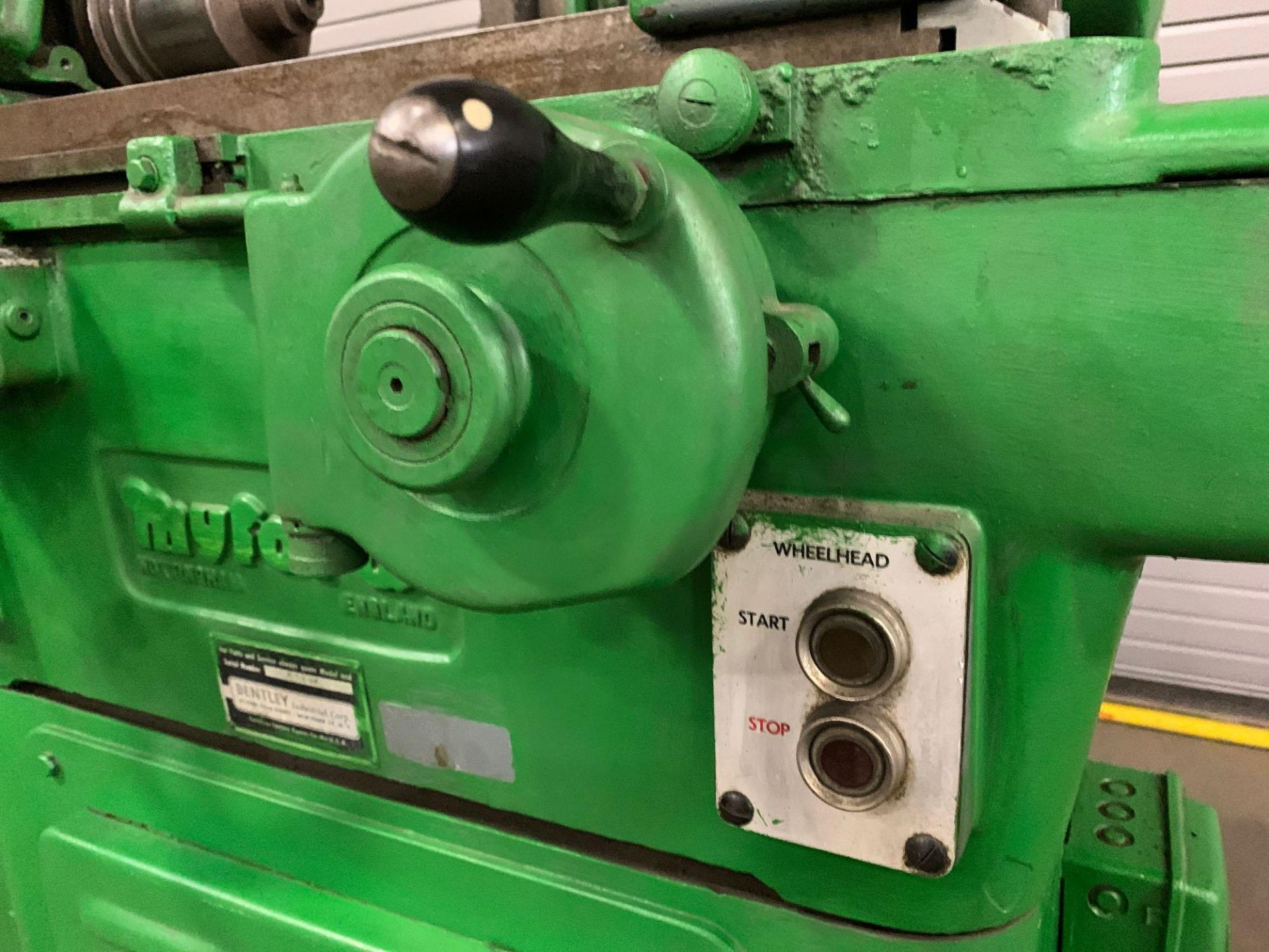 """Myford MG-12 Plain Cylindrical Grinder 5"""" x 12"""" hand feed - Image 13 of 23"""
