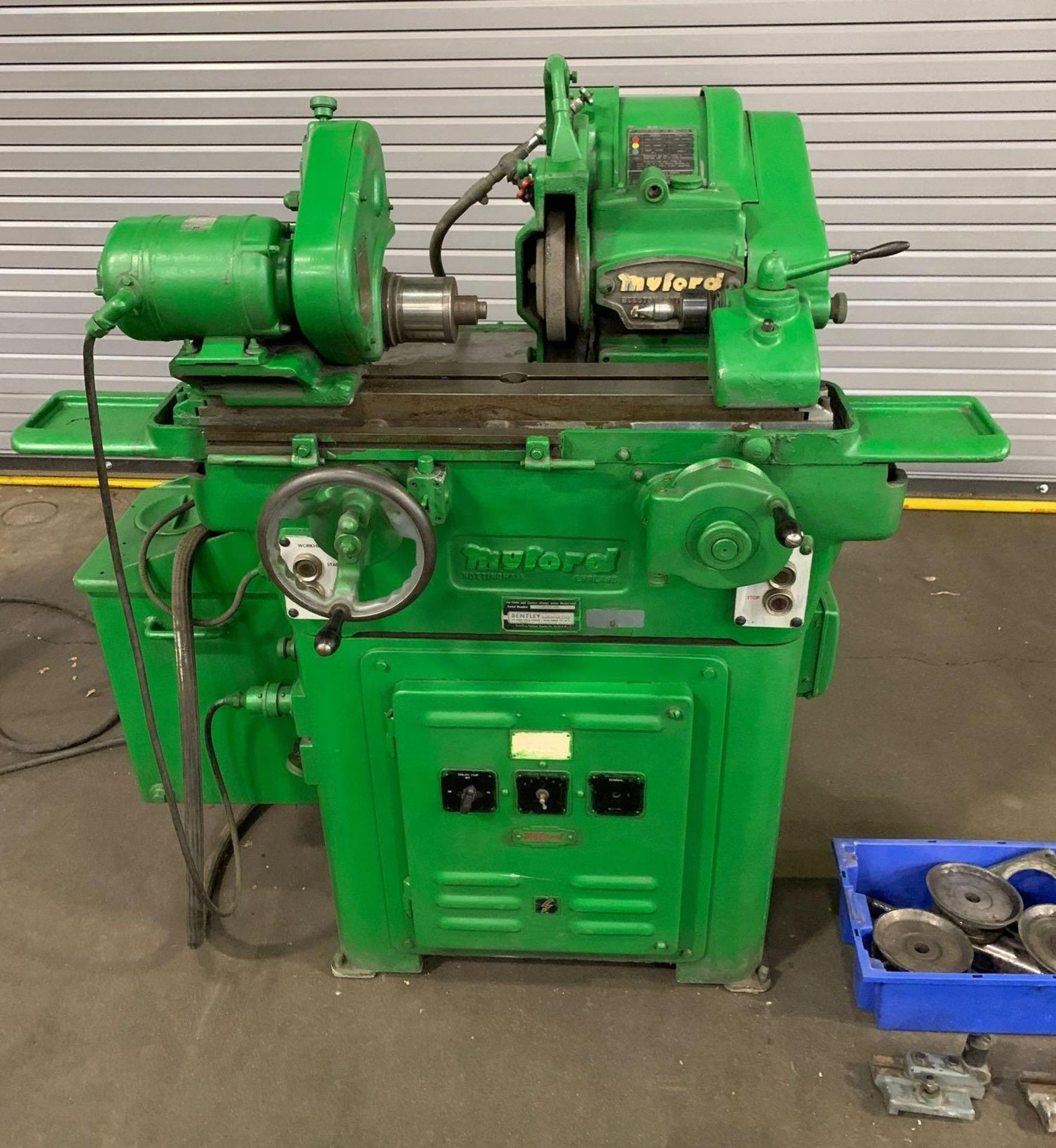 """Myford MG-12 Plain Cylindrical Grinder 5"""" x 12"""" hand feed - Image 2 of 23"""
