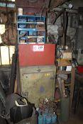 Various Welding Rod, Rod Cabinet, Welding Hoods