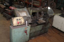 WF Wells & Sons Horizontal Band saw