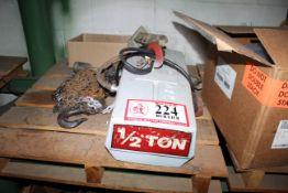 1/2 Ton Electric Hoist *Taxable