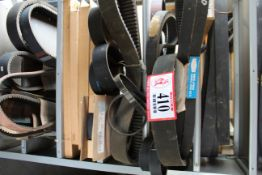 Various Cogged Belts, V-Belts *Taxable