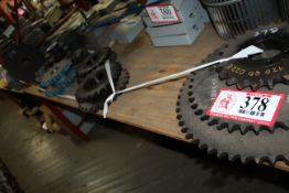 Various Size Sprockets *Taxable