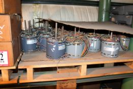 Contents of (2) Pallets- Assorted 1/4hp- 1/2hp Electric Motors *Taxable