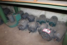 (11) Electric Motors-Various Size *Taxable