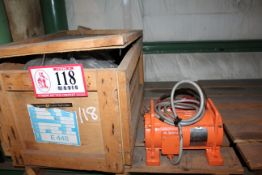 Magnetek 20hp Electric Motor and Global 230 Volt 1hp Electric Motor *Taxable