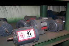 (8) 1/2hp-1hp Electric Motors *Taxable