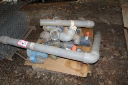Contents of Pallet- Various PVC Fittings