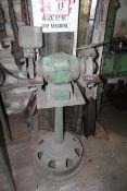 Double Spindle Grinder Mounted on Pedestal