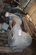 Contents of (2) Pallets- Electric Blowers (No Motors) and a Radial Arm Saw
