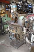 """Wells Index Vertical Milling Machine w/ 6"""" Jaw Machinist Vise and Trakxy Digital Controls"""
