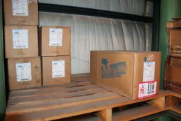 Contents of Pallet- (5) 1hp Electric Motors and (1) 3hp Electric Motor *Taxable