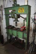 Dake 75 Ton Shop Press