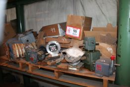 Contents of (2) Pallets: Various Gear Reducers *Taxable