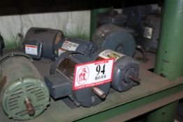 (17) 1/2hp-2hp 3 Phase Electric Motors *Taxable