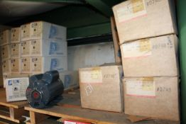 Contents of (2) Pallets- (18) Packard 1/2hp 208/230 Volt Electric Motors and (5) GE 1hp Electric