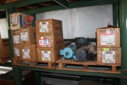 Contents of (2) Pallets- (15) Electric Motors From 3/4hp-2hp *Taxable