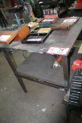 "36"" x 36"" Metal Work Table- Custom Built"