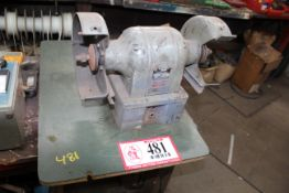 Various Motor Parts, Bench Grinder- For Parts, Table, Etc.