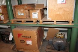 (4) Electric Motors -In Crate - (2) 3hp (1)15hp (1) Standard E 100hp 230/460 Volt 3 Phase *Taxable