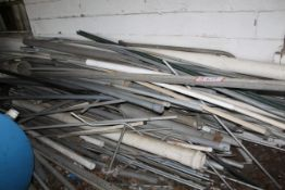 Various Sized PVC Pipe, Galvanized Pipe, Etc.