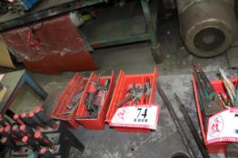 Contents of (3) Containers - Snap Ring Plyers, Allen Wrenches