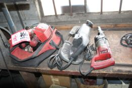 Milwaukee Cordless Tools- Reciprocating Saw, Angle Grinder, Portable Band Saw, Sawzall