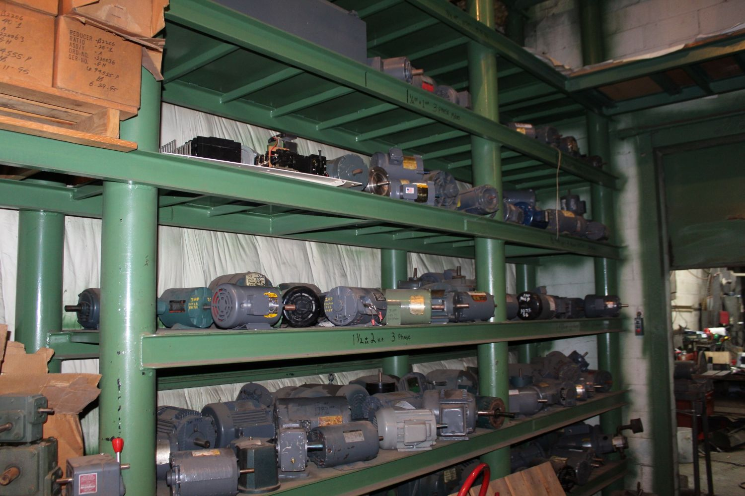 Absolute Auction of Athens Electric Motor Service