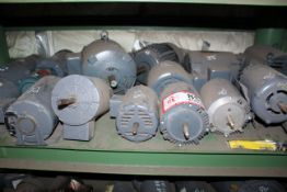 (19) Electric Motors- Ranging in Size From 1/3hp-5hp *Taxable