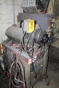 Glenn Constant Voltage Welder -Set Up For Testing Electric Motors