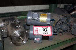 Contents of Shelf: (12) Electric Motors- Various Size Up to 3/4hp and (1) Set of Electrical