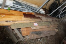 Contents of Pallet- Misc. Lumber