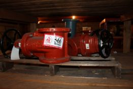 """(4) Large 6"""" Gate Valves *Taxable"""