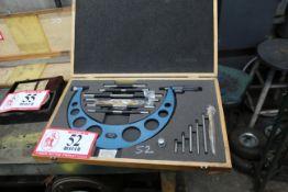 """Fowler 6""""-12"""" Micrometer Set"""