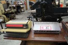 NSC 28H Binder and a GBC Binder/Hole Punch