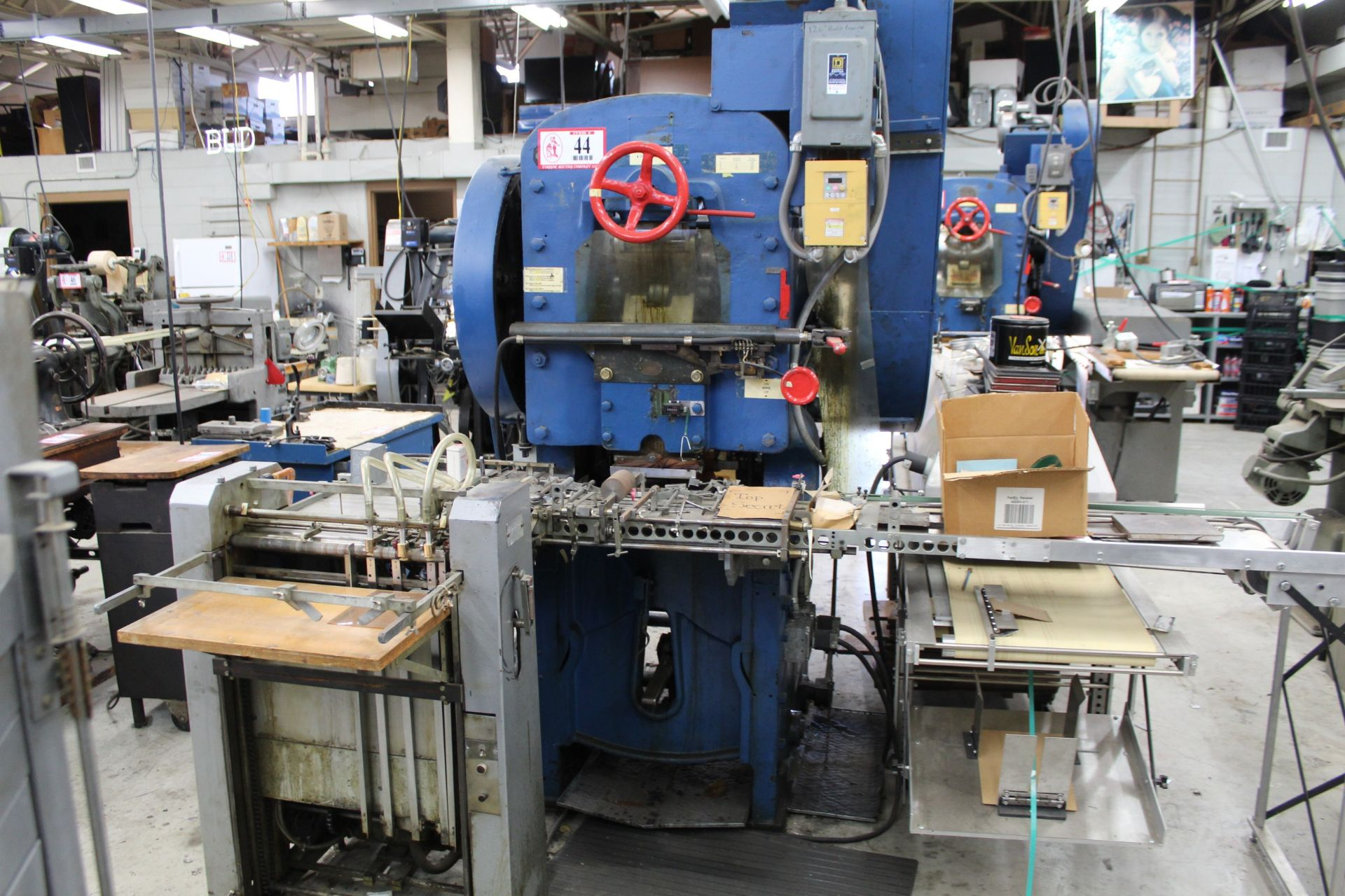 S.P.R. Carver Co. Label Press w/ Omni Dryer - Image 2 of 2