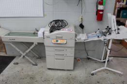 Xante Ilumina Printer/Copier w/ Folder and Conveyor