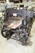 "Seybold Machine Co. Oswego Paper Cutter, 36"""