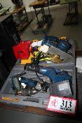 Ryobi Cordless Tools - Drills, Reciprocating Saws, Batteries, Chargers, Etc.