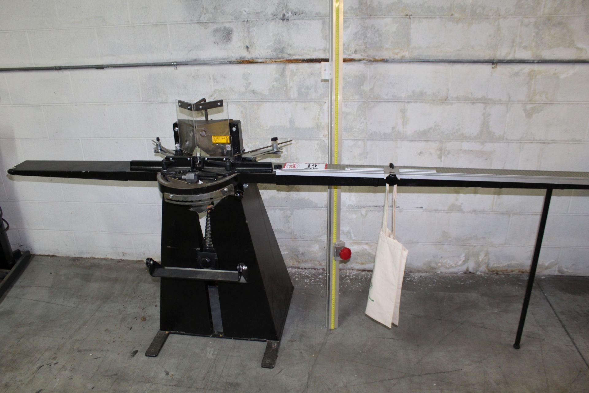 2004 Hansen Model 8160 Miter Paper Shear
