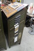 Ludlow Type Cabinet w/ Various Fonts & Type