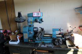 Smithy Model CB-1220XL Table Top Mounted Lathe/Milling Machine w/ Various Chucks, Tooling, Lathe
