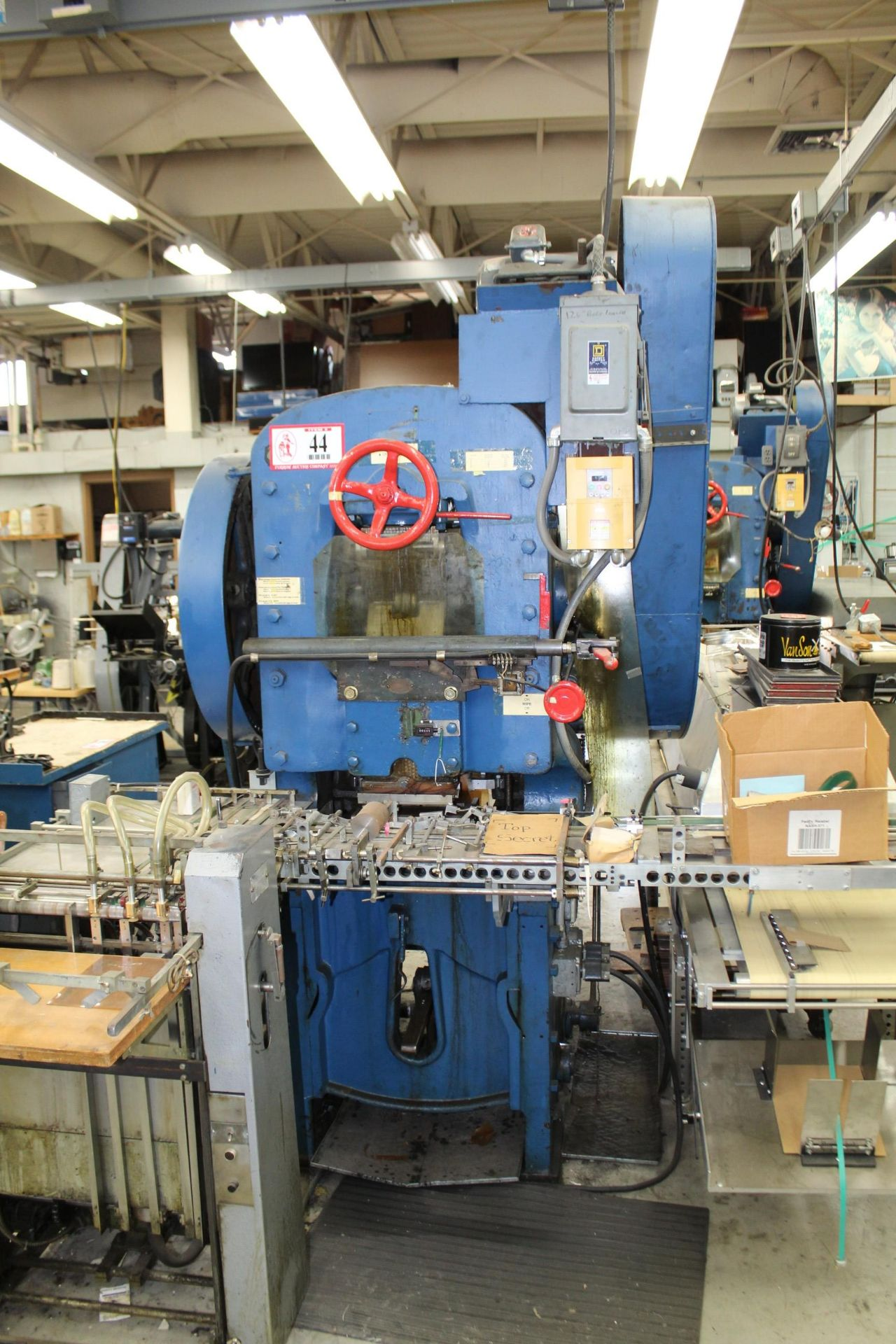 S.P.R. Carver Co. Label Press w/ Omni Dryer