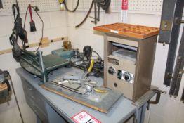 Table & Contents: Simple-X Press, Paper Cutter, Duplicator Engraver, Etc.