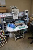 Baruadan 15 Needle Embroidery Machine