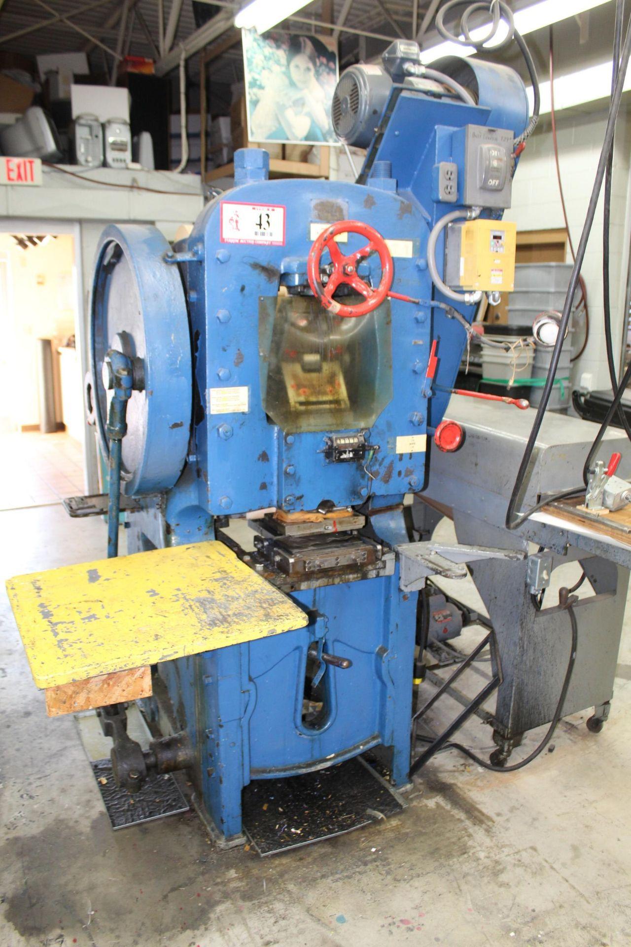 S.P.R. Carver Co. Label Press w/ Zenith Dryer