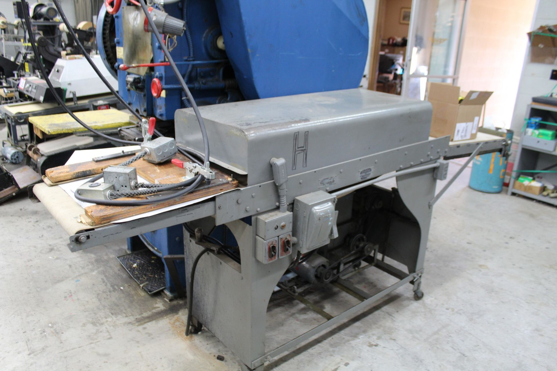 S.P.R. Carver Co. Label Press w/ Zenith Dryer - Image 2 of 2